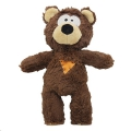 Toy Tough Rope Core Bear Rosewood