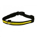 Collar Premium Flashing Yell Lrg Rosewood