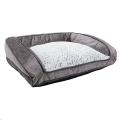 Sofa Luxury Fleece Lined Plush Med 74cm Rwood sos