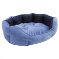 Bed Pet Quilted Water-Resist 60cm Navy Rwood