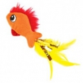 Cat Toy Feather Fish Petstages sos