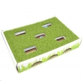 Cat Toy Grass Patch Hunting Box Petstages