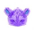 Cat Toy Nighttime Fuzzy Bunny Cuddle Toy  tbd