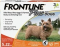 Frontline Plus Dog Small (0-10KG) 3 PIP *