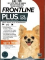Frontline Plus Dog Small (0-10KG) 10x1 PIP *