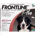 Frontline Plus Dog XLarge (40-60KG) 10x1 PIP *