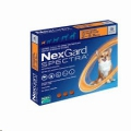 Nexgard Spectra XS(2-3.5kg)3 Pack  Orange*