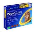 Nexgard Spectra Sml (3.6-7.5kg) 3 Pack Yellow*