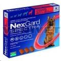 Nexgard Spectra XL(30.1-60kg) 3 Pack Red*