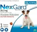 NexGard 4.1-10kg (1.25g) Med 1x10 Shipper (Blue)*