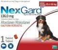 NexGard 25.1-50kg (6g) GG 1x10 Shipper (Red)*