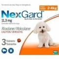NexGard 2-4KG (0.5G) 10x3 Pack Shipper (Orange)*