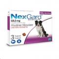 NexGard 10.1-25kg (3g) Giant Three (Purple)*