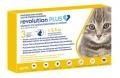 Revolution Plus Cat (1.25-2.5kg) Yellow 3 Pip *