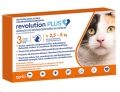 Revolution Plus Cat (2.6-5kg) Orange 3 Pip *