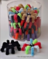 Cat Toy Spiders Large Asst Tub of 30