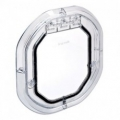 Dog Door Glass Fitting Clear 300x270mm