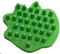 Groomer/Cleaner Rubber Lime Green Sprogley