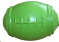 Toy Rubber Amer. Football Med Lime Green Sprogley