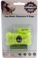 Poop Bag Holder w/Bags 2x15 Sprogley