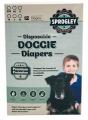 Dog Diapers Disp. Pk 12 XS 25-33cm Sprogley