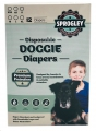 Dog Diapers Disp. Pk12 Md 45-63cm Sprogley
