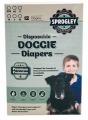 Dog Diapers Disp. Pk12 XLarge 63-76cm Sprogley