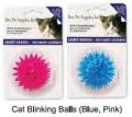 Cat Toy Blinking Ball 4.5cm Pink Bestpet