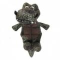 Dog Toy Crocosaur w/7 Squeaker 30cm PT110 Bpet tbd
