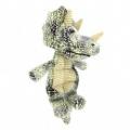 Dog Toy Triceratops W/7 Squeak 33cm Bestpet