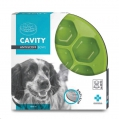 Bowl Anti-Scoff Cavity Bowl Light Green M-Pets