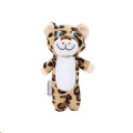 Dog Toy Plush Leopard Standing Jipsy Beeztees