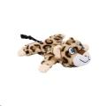 Dog Toy Plush Leopard Lying Taki Beeztees