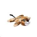 Dog Toy Plush Tiger Lying Roar Beeztees