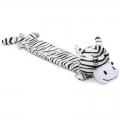Dog Toy Plush Zebra Lying Long Dux Beeztees