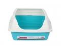 Litter Box for Cat w/rim Mansura 49x39x21cm M-Pets