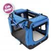 Flow Crate Lge 71x51x51cm Bl/Blk M-Pets