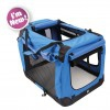 Flow Crate XXL 91x63x63cm Bl/Blk M-Pets