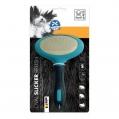 Brush Slicker Oval Lge 12.5x19.5cm M-Pets