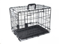 Wire Crate Voyager XL106.5x71x76cm Blk M-Pets